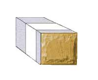 Половинчатый рядный блок