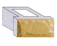 >Блок проема двухсторонний