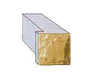 Блок проема половинчатый