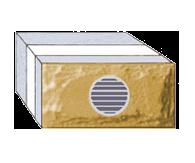 Рядный вентиляционный блок